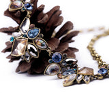 New Styles Statement Fashion Women Jewelry Antique Geometric Pendant Necklace