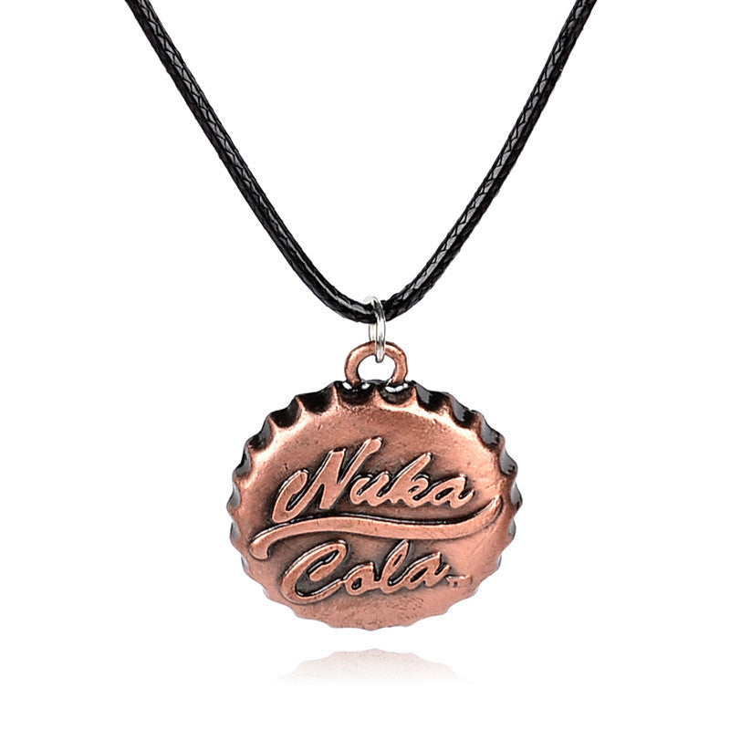 New arrival Nuka cola pendant necklace