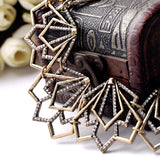 OL Style Fashion Joker Zinc Alloy Irregular Women Short Collar Necklace