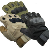 Outdoor Sports Fingerless Military Airsoft Hunting Cycling Bike Gloves Half Finger Gloves