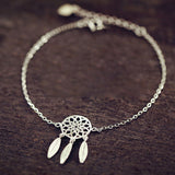 New Fashion Silver Color Dreamcatcher Charm Bracelets For Women Dream Catcher Jewelry