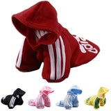 Pet Puppy Dog Cat Coat Clothes Hoodie Sweater T-Shirt Costumes Size