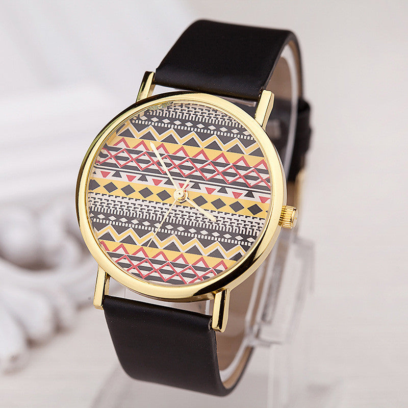 Women's Watch Bohemian Totem Pattern fashion watch