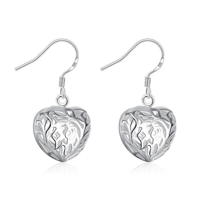 Silver Plated Earrings Silver-plated jewelry Fashion Jewelry