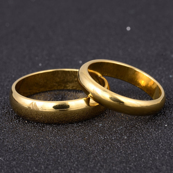Simple Engagement Wedding Couple Rings Lovers Ring Buycoolprice