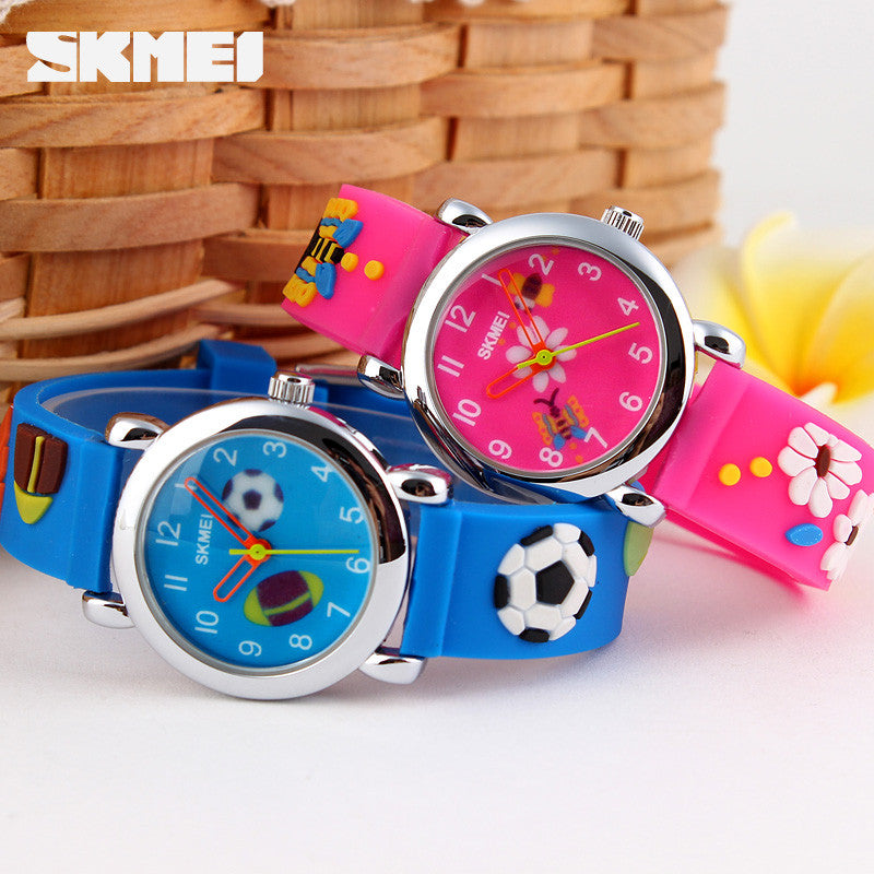 Skmei Children Watch Brand Fashion Casual watches Quartz Wristwatches Waterproof Jelly Kids Clock Boys girls Students Wristwatch