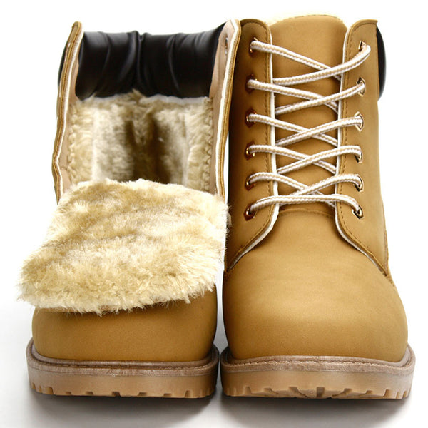 Suede Leather Man Boot Winter Men Boots Ankle Shoes