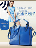 The new 2016 women handbag in Europe and the united Lady handbags PU leather female shoulder bag