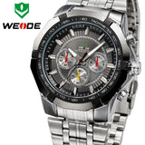 WEIDE Men's Sports Watch Japan Quartz Wristwatch Military Fashion & Casual Dive Watches for Men