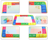 New arrivels 43X29cm Water Drawing Painting Writing Mat Board & Magic Pen Doodle Toy Gift