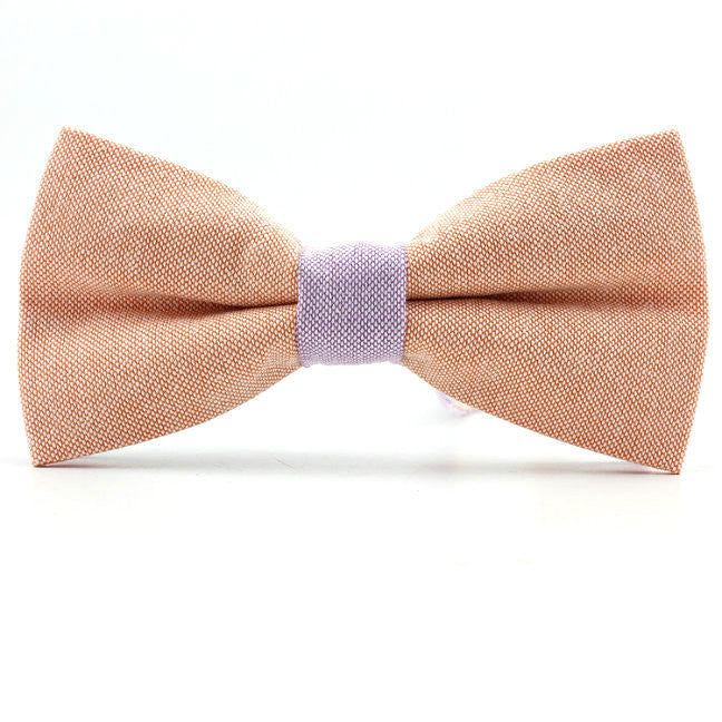 Tuxedo Bowtie Unique Mens cotton bow ties men clothing accessories