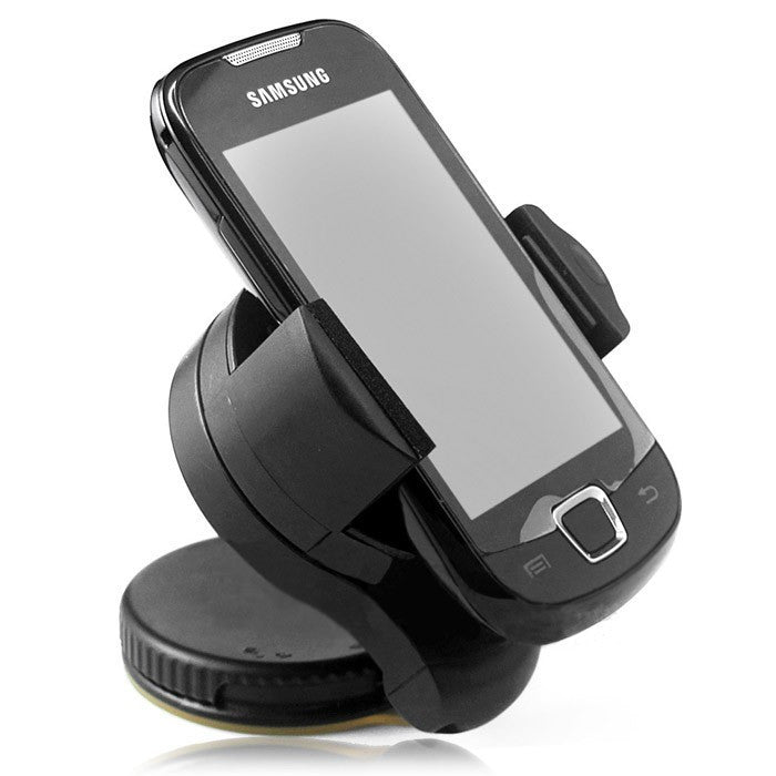 Universal 360degree spin Car Windshield Mount cell mobile phone Holder Bracket stands for iPhone5 4S for samsung Smartphone GPS