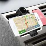 Universal Mobile Phone Holder Car Air Vent Mount Bracket for Samsung Galaxy S4 S5 Note 3 for iPhone 4 4S 5 5S 6 Plus GPS