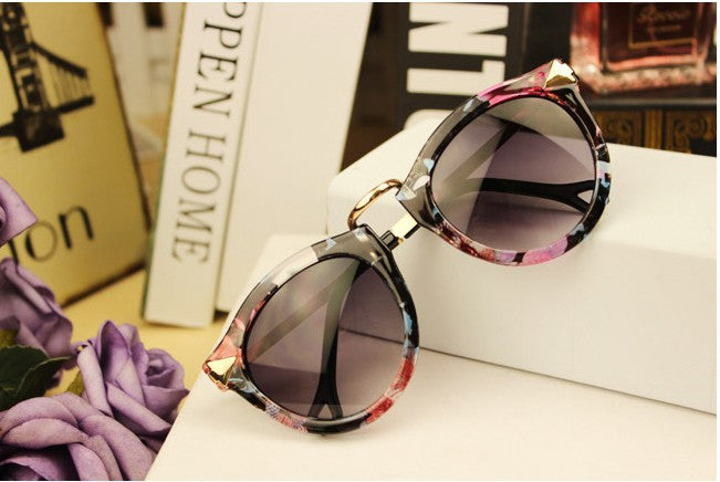 Vintage Trend Sunglasses For Women Men Round Retro Sun Glasses Sports eyewear