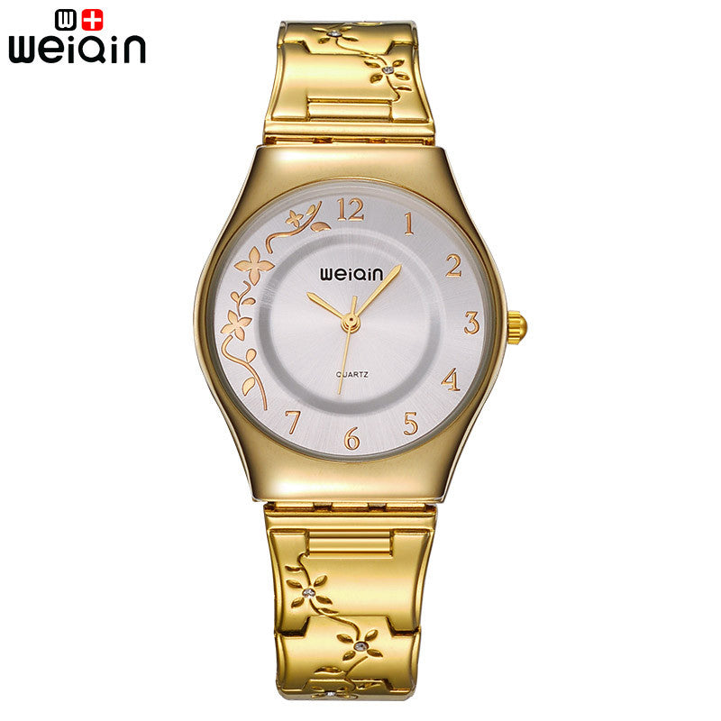 Silver Women Watches Luxury High Quality Water Resistant Montre Femme Stainless Steel Dress Woman Wrist Watches