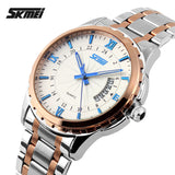 Watches men luxury brand Skmei quartz watch men full steel wristwatches dive 30m Fashion sport watch
