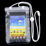 Waterproof Dry Bag Mobile Phone Case Transparent With Scrub