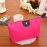 Women's cosmetic bag large capacity cosmetic case candy color nylon cosmetic box waterproof makeup case