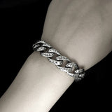 New Fashion Popular Jewelry Rock Men Titanium Steel Bracelets Vintage Bangles Man Hand Chain Party Accessories