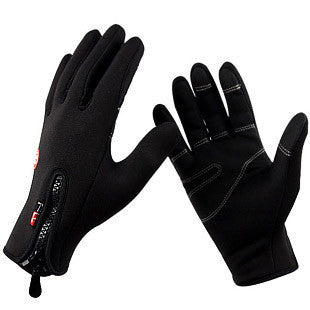 Windproof Outdoor Sports Gloves Tactical Mittens for Men Women in Winter Feel Warm Bicycle Cycling Motorcycle Hiking Skiing