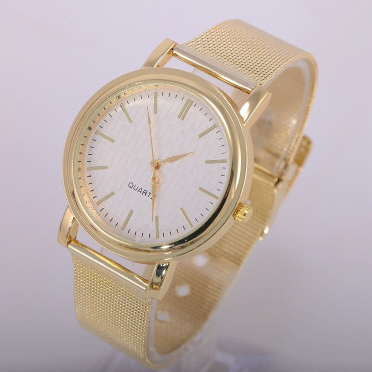 Women Wristwatches with Gold Band Fashion Women Dress Watch Brand New Stainless Steel Watches Women Relogio Feminino