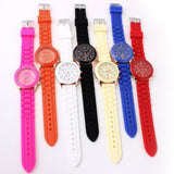 Women's Watch Fashion Silicone Strap candy color watch fashion watch