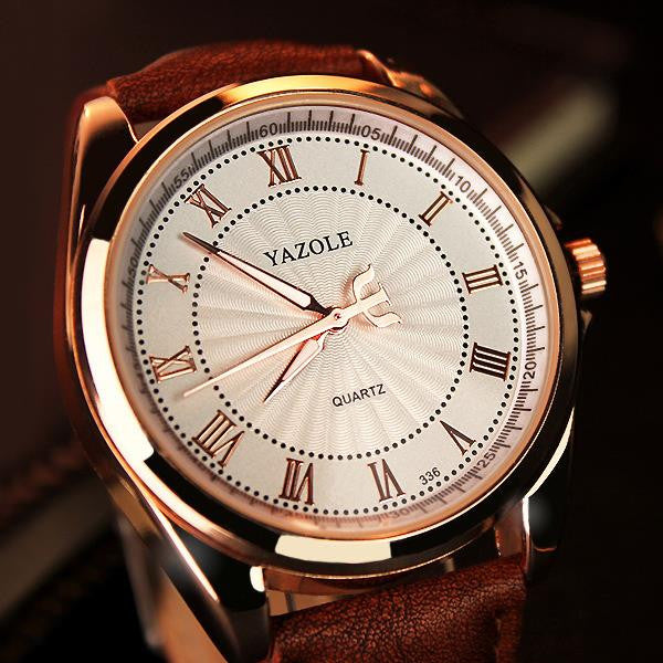 YAZOLE Quartz Watch Men Top Brand Luxury Famous Wristwatches Male Clock Wrist Watch 2016 Quartz-Watch Hodinky Relogio Masculino
