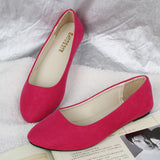 Fashion women shoes solid candy color patent PU shoes woman flats new ballet princess shoes