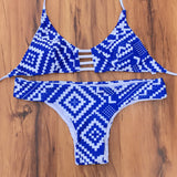 Bikini set sexy Beach Swimwear Printed swimsuit women swimwear bathing suit bikini
