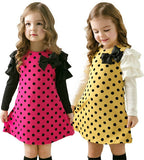 Girl dress baby kids clothes New fashion high quality cotton spring children clothing long-sleeve girls princess dress