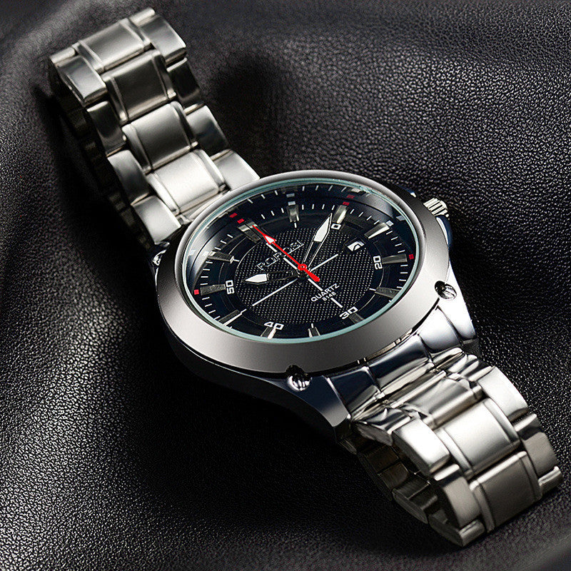 Men wristwatch quartz watch full stainless steel watch mans fashion casual watch Men's Dress Watches