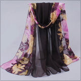 shawls and scarves dots hot women fashion style 2014 spring autumn gentlewomen silk burnt out raw women's scarves multicolor