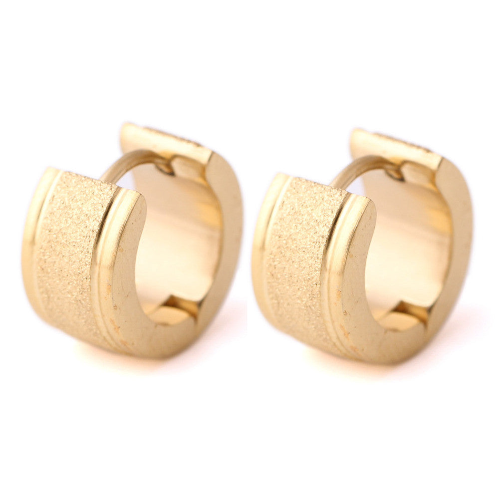 Women's earrings Gold Plated stainless steel fashion earrings for women
