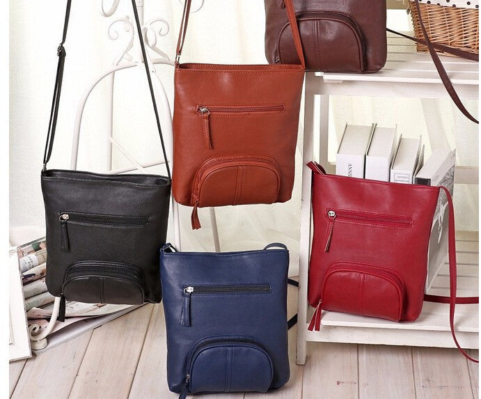 Women messenger bags pu leather handbags women cross-body shoulder bag Bolsas high quality
