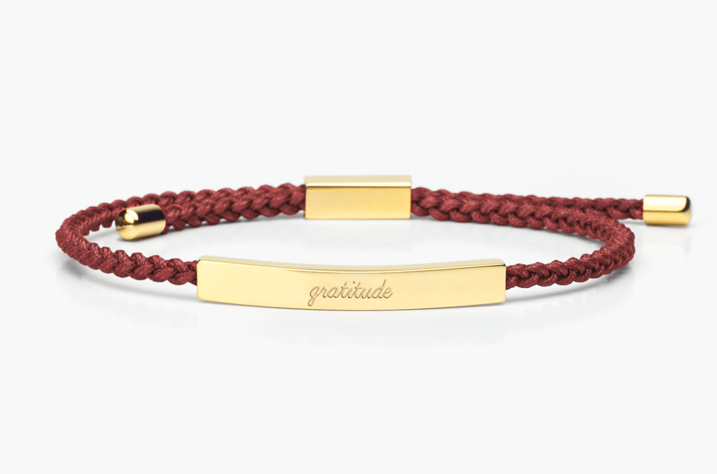 sentimental silk product the locate local reminder bracelet