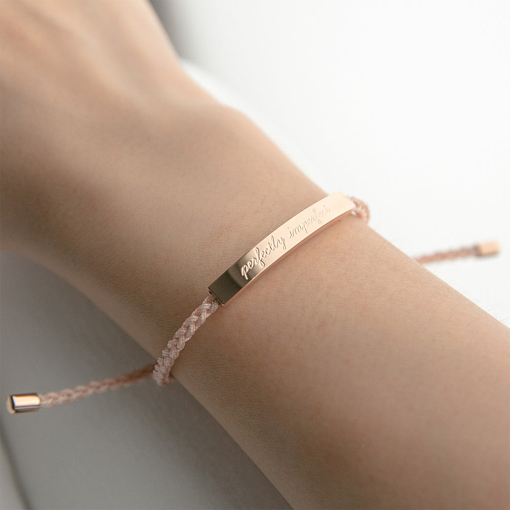 Perfectly Imperfect in Classic Rose Gold