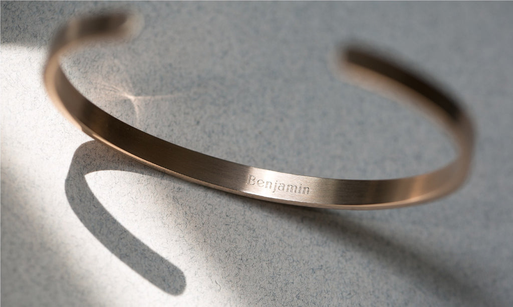 Engraving - Reminder Cuffs