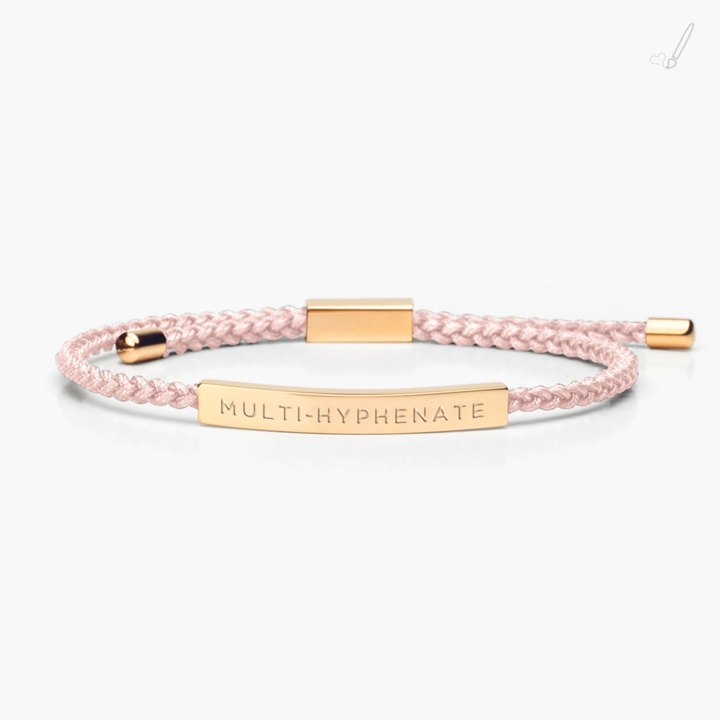 Multi-Hyphenate in Classic Rose Gold