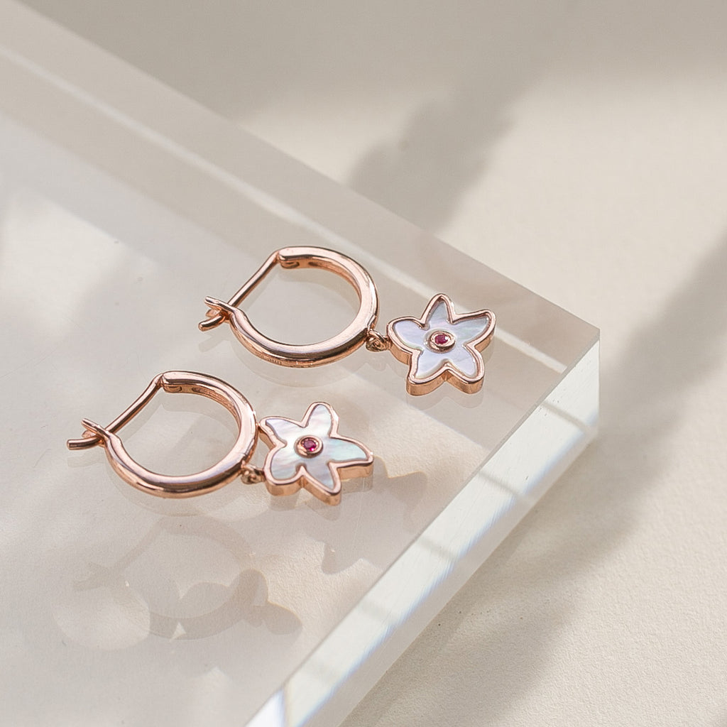 Singapore Kopsia Earrings