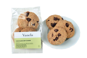 Chocolate Chip Cookie Vanela (4 galletas)