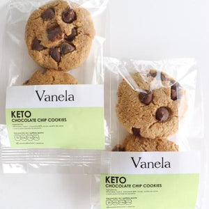Chocolate Chip Cookie Vanela Keto (2 galletas)