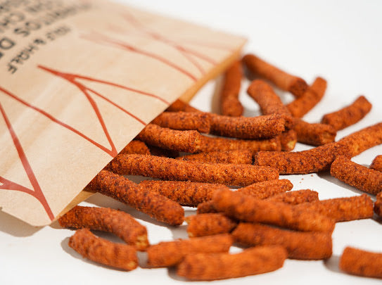 Churritos de Nopal y Espirulina - Chipotle