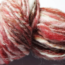 Load image into Gallery viewer, Cherries & Cream - Worsted Wt., www.skyloomweavers.com