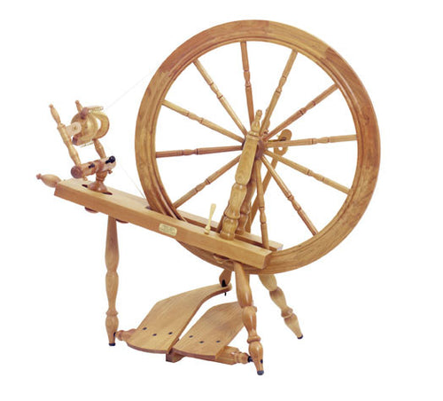 Schacht-Reeves Spinning Wheel - Cherry, www.skyloomweavers.com