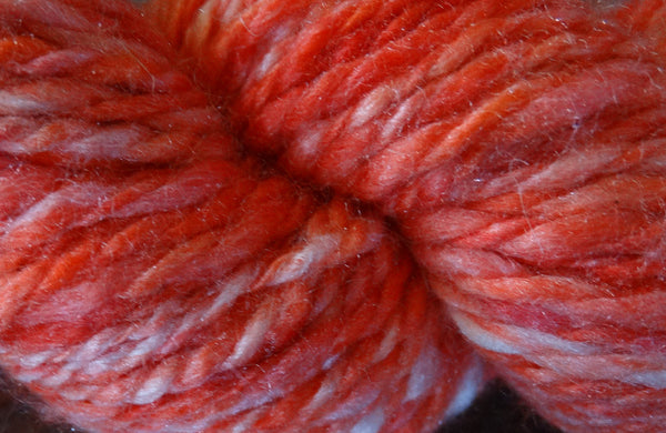 Handspun Yarn - Glorious Sunrise, www.skyloomweavers.com