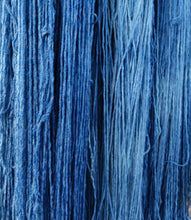 Load image into Gallery viewer, Indigo Dye on Cotton/Rayon Yarn, www.skyloomweavers.com