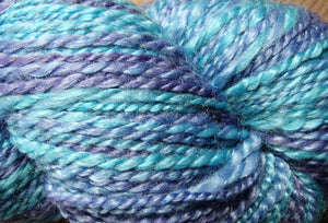 Handspun Yarn - Jewels of Neptune, www.skyloomweavers.com
