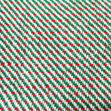 Load image into Gallery viewer, Two Color Twill Kitchen Towels - Green/Red, www.skyloomweavers.com