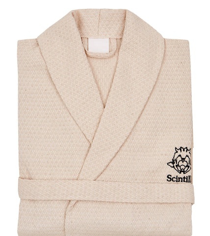 Scintilla Organic Bathrobe
