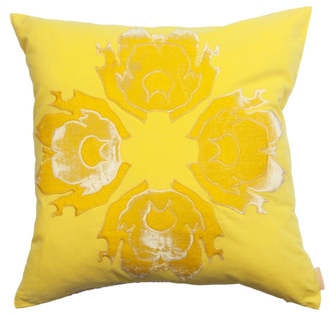 Lava Flower Pillow